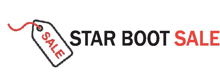 star boot sale